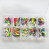 Basstrike Winter Ice Fishing Jig Lead Heads Kit Box