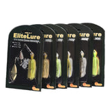 Elitelure CFS Spinnerbait - Double Willow Spinner Blade Baits