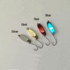 5pcs/lot Small Metal Spoon Hard Fishing Lure Baits