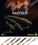Elitelure Profelis Worms Amoeba Soft Plastic Baits