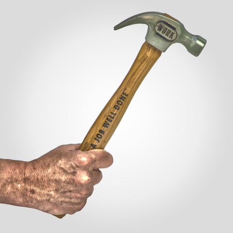 WORK Beer Tap Handle - Hammer