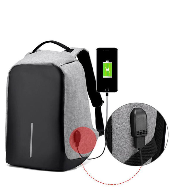 Kulgadgets Antitheft External USB Charging Backpack