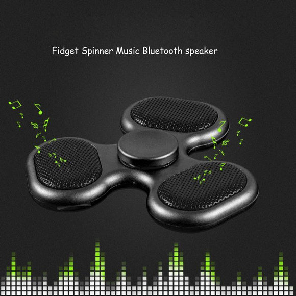 Kulgadgets Fidget Spinner Bluetooth Speaker