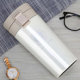 Kulgadgets WHITE Stainless Steel Tumbler Thermocup