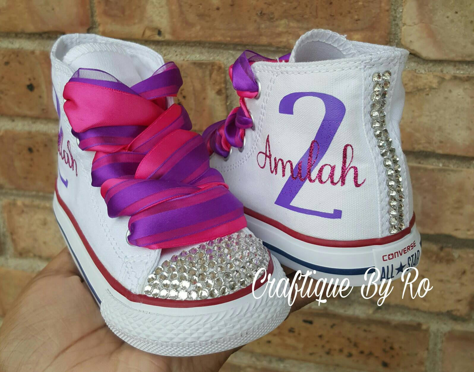 Doc Birthday Bling Shoes - Pink and