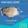 (Black) KIDS Face Mask