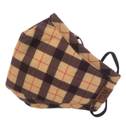 Winter (Thick) Plaid PVTL Face Mask
