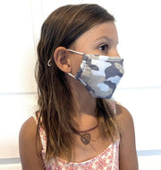 (Camo) KIDS Face Mask