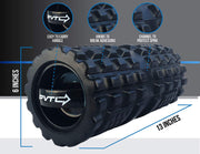 "Best vibrating deep tissue massage lithium rechargeable battery hyperice Next roller Nextroller Nextrino PVTL Foam roller for fitness vibranting roller Physical Therapy 36"" 36 inch foam roller EVA best recovery review product best myofascial release back"