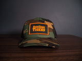 Camo Rawlings Tigers Patch Snapback
