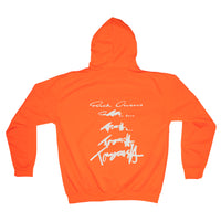 Rick Owens x Tommy Cash Tangerine Orange Hoodie
