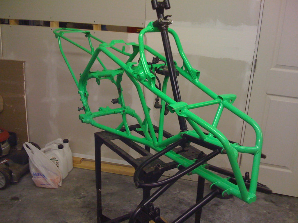 HAND BUILT CUSTOM BANSHEE – TerraFab Swingarms