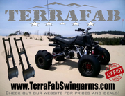 CUSTOM ATV EXTENDED & NEGATIVE LENGTH SWINGARMS-eBay