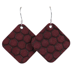 Black Cherry Hex Tile
