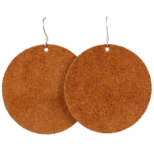 Chestnut Suede Circle