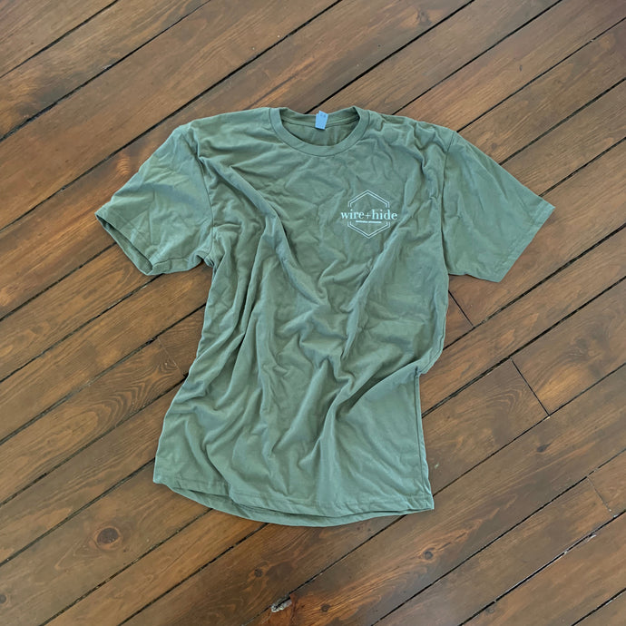 Short Sleeve Logo T-Shirt - Army Green