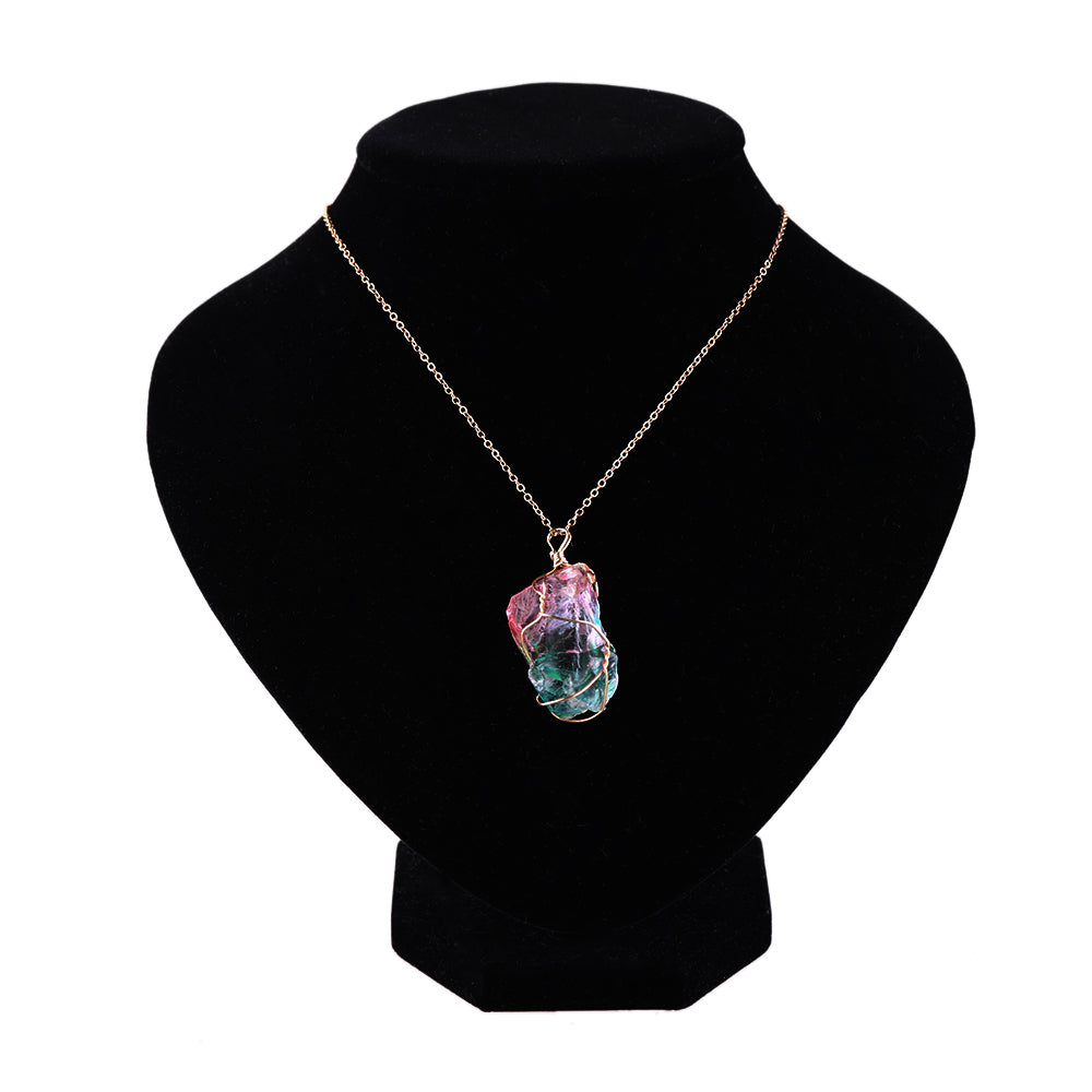 Kawaii Rainbow Crystal Necklace - 50% OFF + FREE SHIPPING! - The Creative Booth