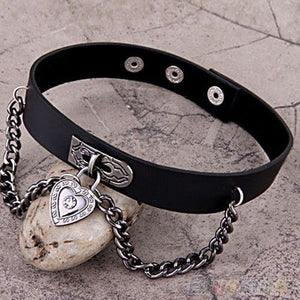 Chain Heart Choker - 55% Off! - The Creative Booth