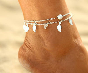 FREE! Handmade Bohemian Leaves Anklet - The Creative Booth