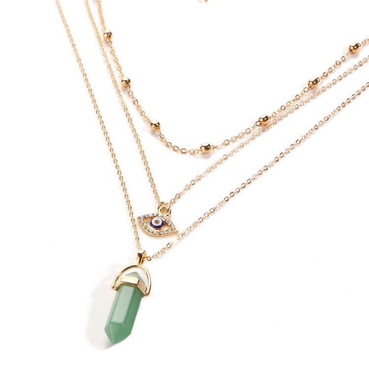 Multi-Layer Opal Necklace - 30% Off! - The Creative Booth