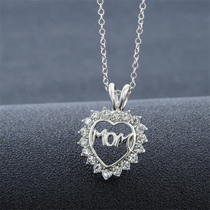 Love Mom Devil Heart Necklace - 35% Off!