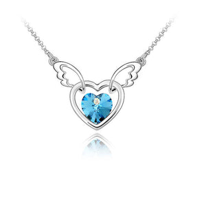 Wings Heart Necklace - The Creative Booth