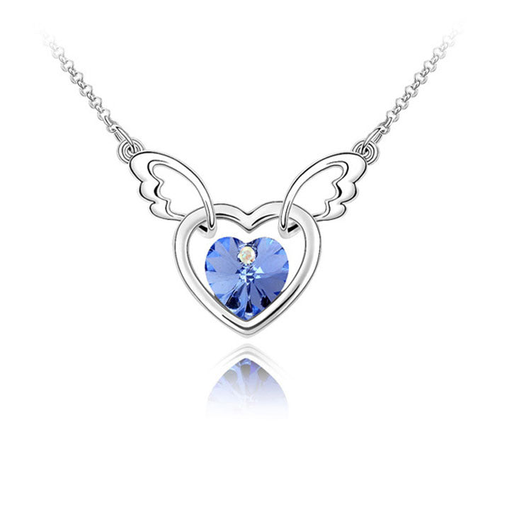 FREE! Wings Heart Necklace - The Creative Booth