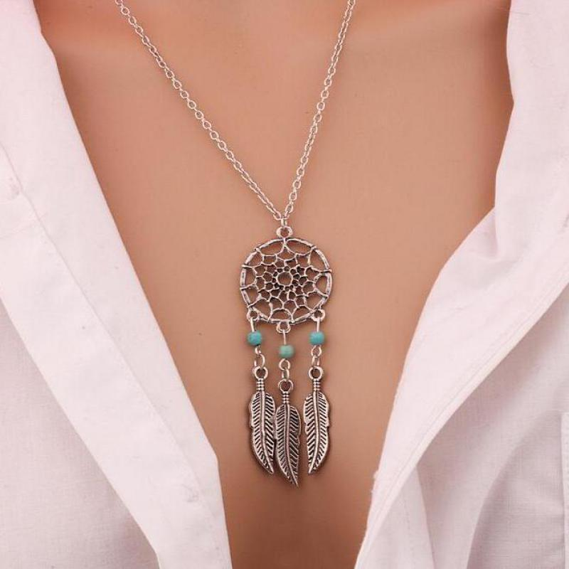FREE! Dream Catcher Pendant Necklace - The Creative Booth
