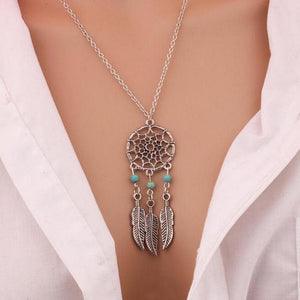 Dream Catcher Pendant Necklace - 60% Off! - The Creative Booth