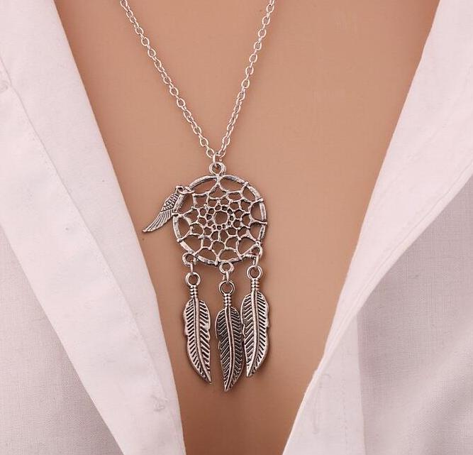 Dream Catcher Pendant Necklace - 30% Off! - The Creative Booth
