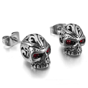 Skull Stud Earrings - Free Shipping - The Creative Booth