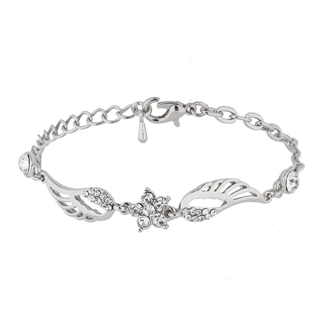 Angel Wings Star Charm Bracelet - 30% Off! - The Creative Booth