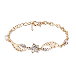 Angel Wings Star Charm Bracelet - The Creative Booth