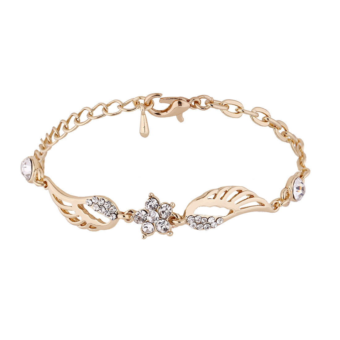 FREE! Angel Wings Star Charm Bracelet - The Creative Booth