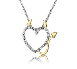 FREE! Heart Devil Necklace - Claim Yours Now! - The Creative Booth