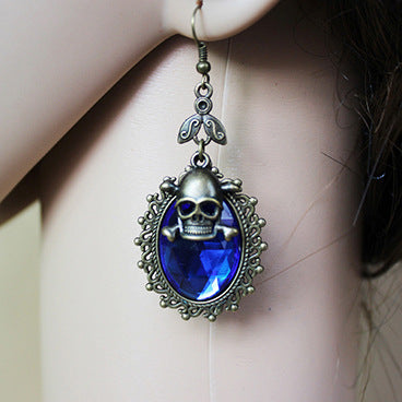 FREE! Ancient Style Crystal Skull Earrings - The Creative Booth