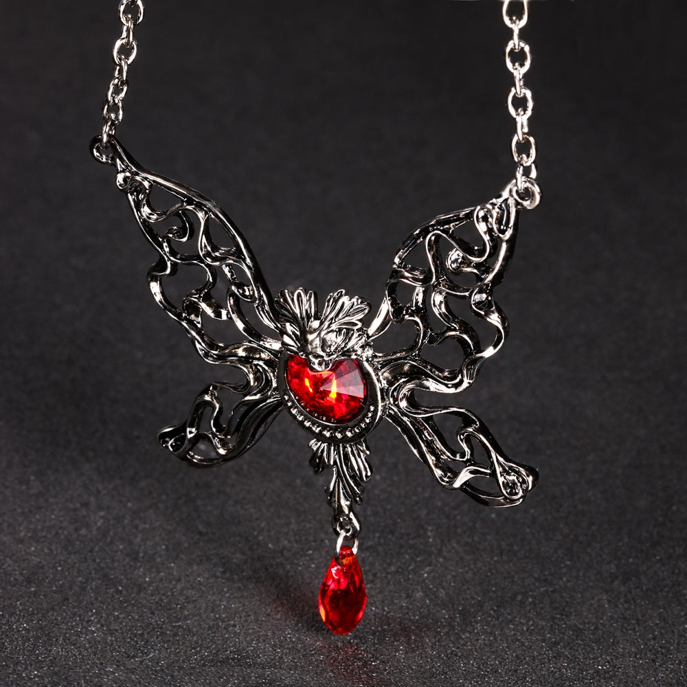 FREE! Vintage Skull Angel Necklace - The Creative Booth
