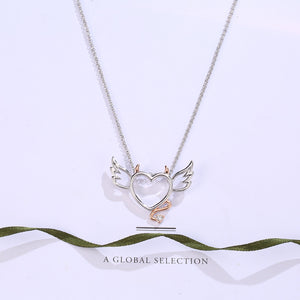 Devil Wings Heart Necklace - 35% Off! - The Creative Booth