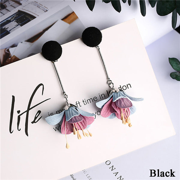 Elegant Boho Flower Earrings - 30% Off - The Creative Booth