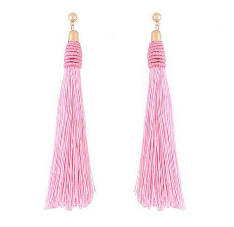 Handmade Long Tassle Earrings - 65% Off! - The Creative Booth