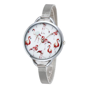 FREE Flamingo Watch - The Creative Booth