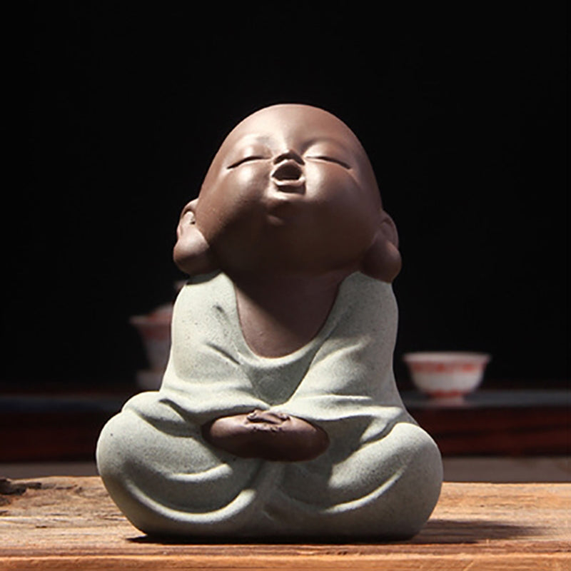 Hand-painted Happy Buddha Tea Pet - 30% OFF + FREE Shipping! - The Creative Booth