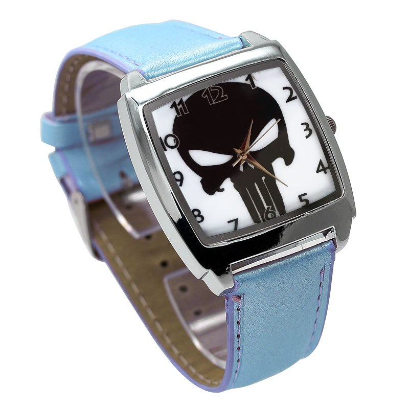 Colorful Skull Dial Waterproof Watch - The Creative Booth