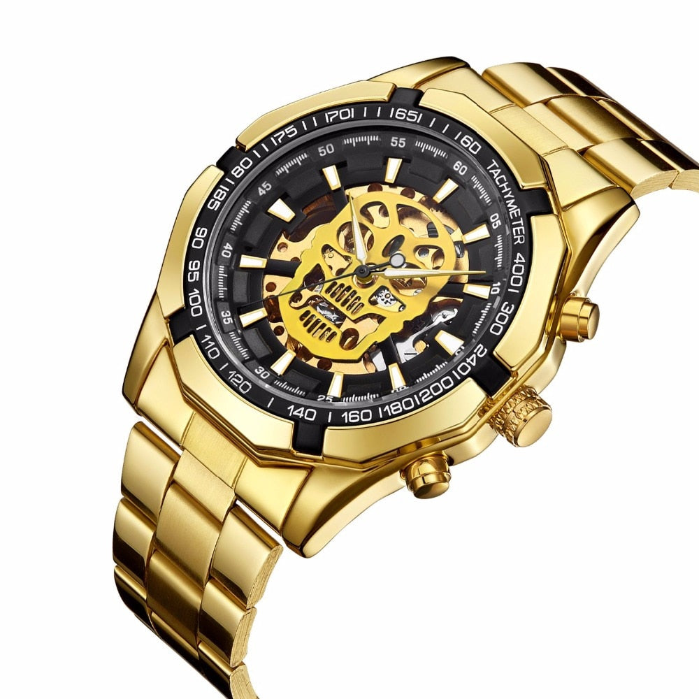 Automatic Self Wind Skull Watch - 50% OFF + FREE SHIPPING - The Creative Booth