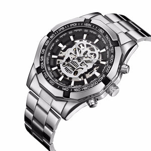 Automatic Self Wind Skull Watch - 30% OFF + FREE SHIPPING - The Creative Booth