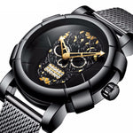Unique Pirate Skeleton Skull Watch