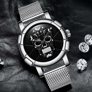 Unique Pirate Skeleton Skull Watch - 30% OFF + FREE SHIPPING