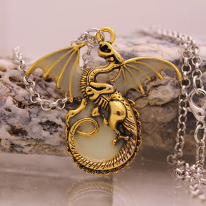 Luminous Dragon Necklace - The Creative Booth