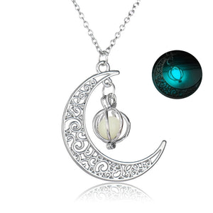 Moon Glow Necklace - The Creative Booth