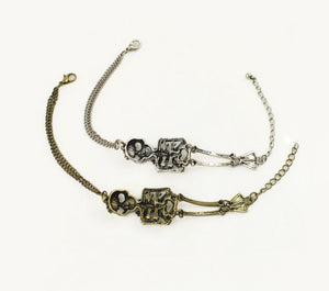 FREE! Vintage Skull Bracelet Pulseira - The Creative Booth